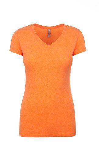 Ladies V Neck T Shirt Shirts Unlimited