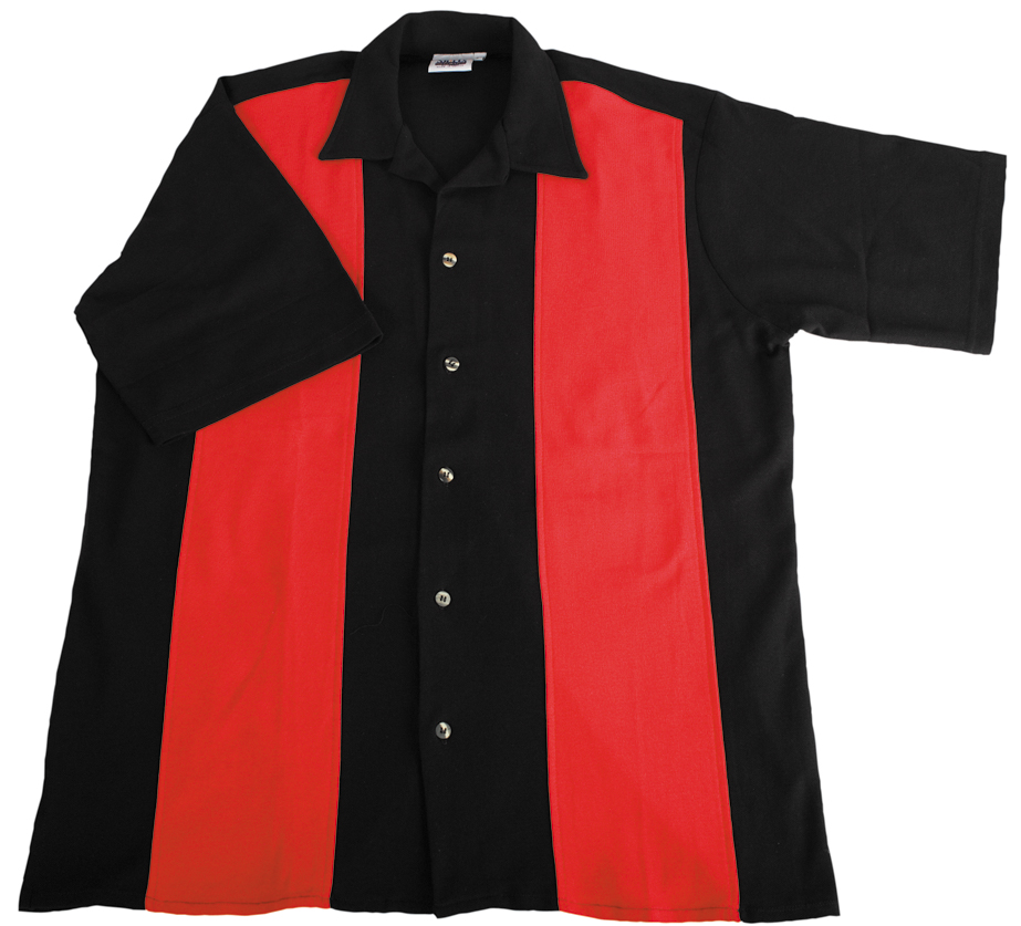 Polo - Retro-style camp shirt